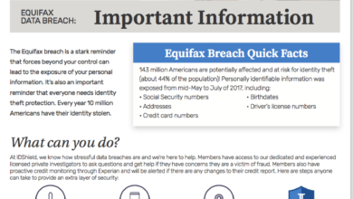 Photo of The Equifax Data Breach: IR Members Can Get Protection
