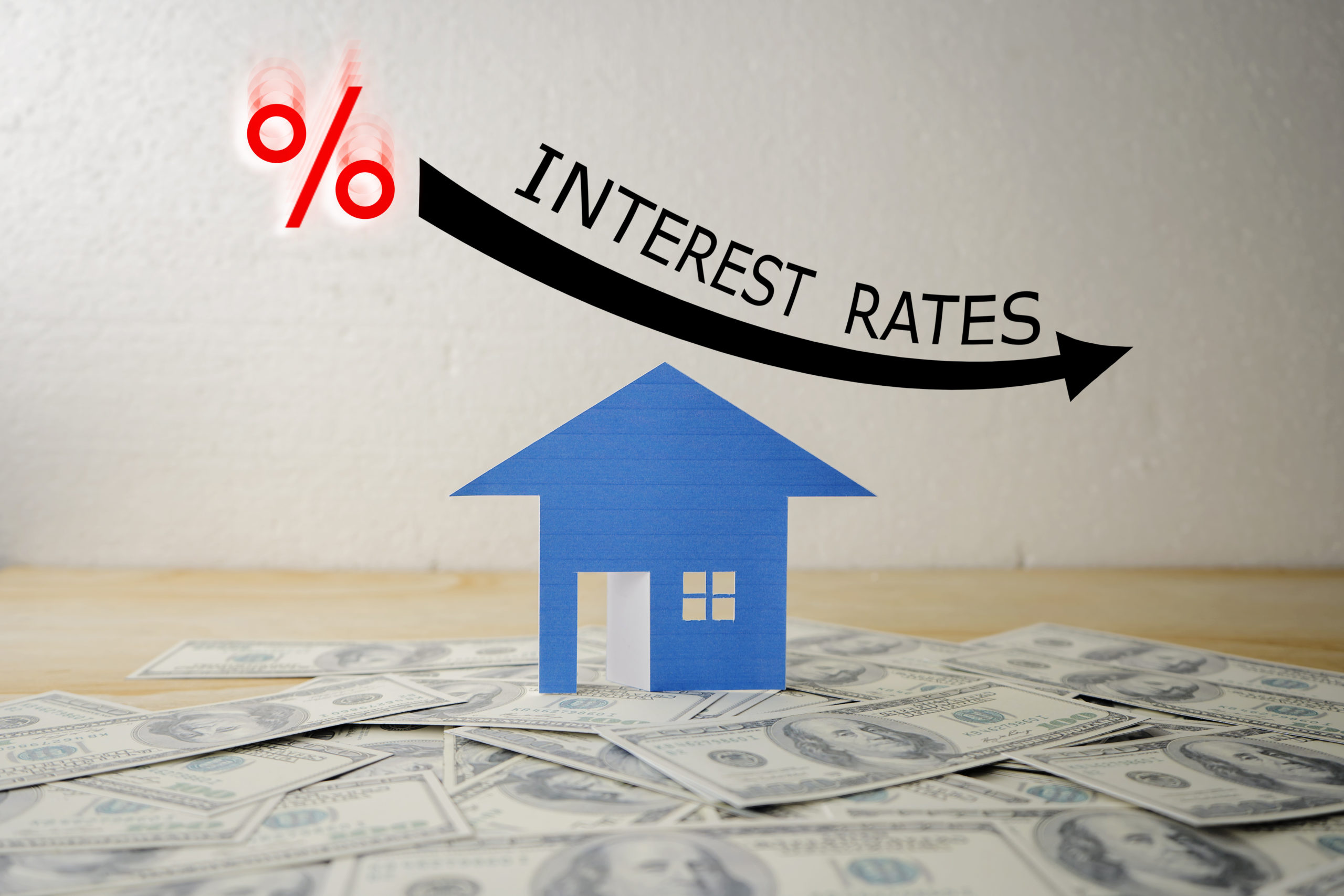 Housing interest rate graphic